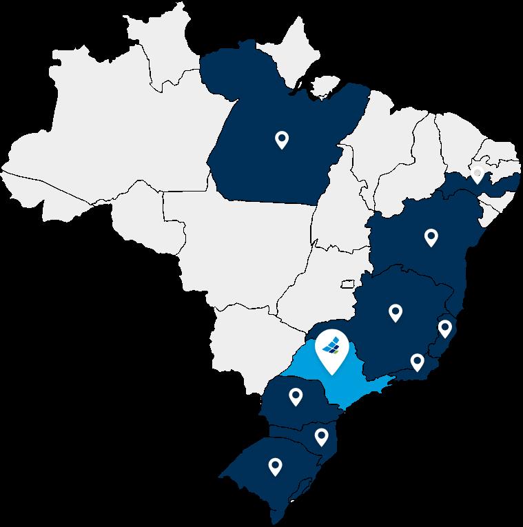 Mapa Clientes - DEAK